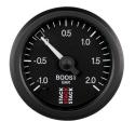 Pression turbo STACK Mécanique Ø 52 | -1/2 bars | Noir ou Blanc
